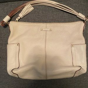 White Kate Spade purse